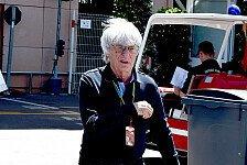 Formel 1 - K�nnte schon morgen aufh�ren: Ecclestone vor sofortigem R�cktritt?
