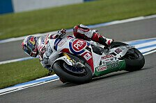 Superbike - Bei Null angefangen: Harter Tag f�r Pata Honda