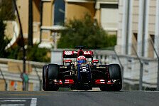 Formel 1 - Chaosrennen als Chance?: Lotus nach Qualifying entt�uscht