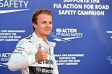 Formel 1 - Silberne erste Startreihe bleibt bestehen: Monaco-Ticker: Keine Strafe f�r Rosberg