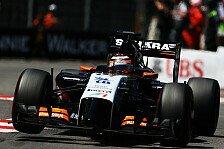 Formel 1 - Keine Gelegenheit verstreichen lassen: Force India: Weiterentwicklung bis Saisonende