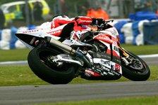 Superbike - St�rze und andere Probleme: Schwieriges Qualifying f�r EVO-Fahrer