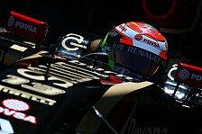 Formel 1 - Maldonado bleibt trocken: Lotus: Pleiten Pech und Punkte