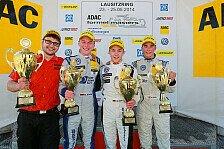 ADAC Formel Masters - Start/Ziel-Sieg für Dienst in der Lausitz