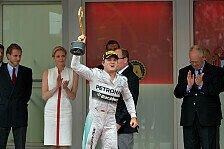 Formel 1 - Benzin wurde knapp: Rosberg: Sieg und WM-F�hrung!