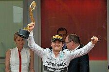 Formel 1 - Rosberg gewinnt das Rennen des Jahres: Monaco GP: Der Sonntag im Live-Ticker