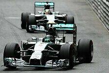 Formel 1 - Teamintervention erst bei Kollision: Weiter heftige Spannungen bei Mercedes