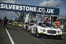 Blancpain GT Serien - Kane klaut ART Grand Prix die Lorbeeren: Silverstone: Bentley obsiegt beim Heimspiel