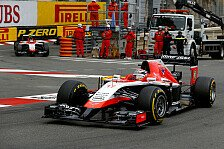 Formel 1 - Performance aus Monaco wiederholen: Marussia: Weitere Punkte m�glich