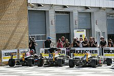 ADAC Formel Masters - Erfolgreiches Heimspiel f�r M�cke Motorsport: Fahrerlagergeschichten vom Lausitzring