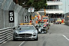 Formel 1 - Stehender Start nach Safety Car - gute Idee?
