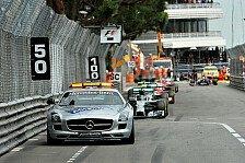 Formel 1 - Stehender Start nach Safety Car - gute Idee?