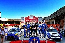 Rallye - Doppelsieg für Familie Gassner in Slowenien