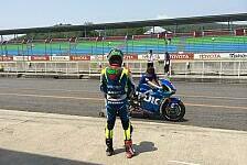 MotoGP - Erster Test auf MotoGP-Suzuki: Laverty: Bremsen und Reifen schocken