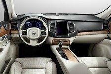 Auto - Mittelkonsole wie Tablet : Erster Blick in den neuen Volvo XC90