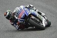 MotoGP - Probleme mit Armen, Bike und dem Weltmeister: Lorenzo: Letztes Jahr noch stark