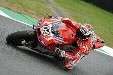 MotoGP - Pirro mit Problemen am Freitagmorgen: Dovizioso und Crutchlow sind guter Dinge
