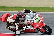 Moto3 - Es sieht gut aus: Luca Gr�nwald f�r Barcelona optimistisch