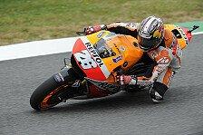 MotoGP - Marquez geschlagen: 3. Training: Pedrosa voran, Bradl st�rzt