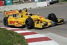 IndyCar - DHL bleibt Sponsor: Hunter-Reay verl�ngert bei Andretti