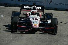 IndyCar - Perfekte Strategie von Penske: Detroit: Power gewinnt von Startplatz 16