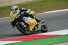 Moto3 - Punkte holen wird schwer: Vorsichtiger Optimismus bei den Deutschen
