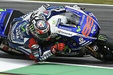 MotoGP - Der M1 fehlt es an Top-Speed: Lorenzo: Sieg ist nicht mehr weit weg