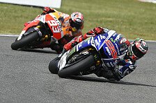 MotoGP - Rossi mit Aufholjagd auf das Podium: Marquez ringt Lorenzo in epischem Duell nieder
