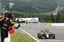WS by Renault - Rowland verspielt Chancen an der Box: Sainz Junior gewinnt auch zweites Spa-Rennen
