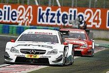DTM - �nderung f�rs Training: Homologation: Mercedes darf weiterentwickeln
