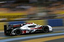24 h von Le Mans - Bester Audi auf Platz drei: Audi: Auf den Ernstfall vorbereitet