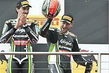 Superbike - Kawasaki feiert Doppelsieg: Sykes besiegt den Schmerz in Misano
