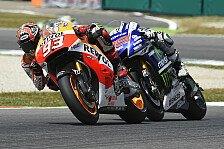 MotoGP - Bilder: Italien GP - Das Duell: Marquez gegen Lorenzo