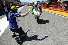 Moto3 - Rossi wirft Fenati raus: Wir mussten aufgeben