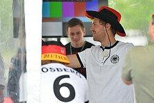 Formel 1 - Vettel: Trotz WM-Halbfinale genug Schlaf: Rosberg und Vettel stolz auf Deutschland