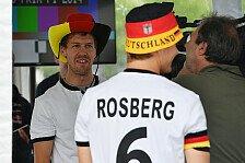 Formel 1 - Deutschland ist Weltmeister!: Die Formel-1-Stars feiern den Fu�ball-Weltmeister