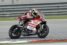 Superbike - Noch nie auf dieser Strecke gewesen: Ducati schwitzt in Sepang