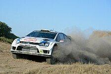 WRC - Ogier gewinnt Monte Lerno 1: Latvala bleibt trotz Motorproblem vorn