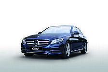 Auto - Leichtbau trifft Handling: Eibach Komponenten f�r die neue Mercedes C-Klasse