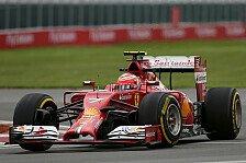 Formel 1 - Zweikampf hinter Mercedes verspricht Spannung: Ferrari vs. Red Bull: Kampf auf Messers Schneide?