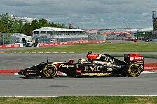 Formel 1 - Mangelnde Speed auf der Geraden nicht zu kaschieren: Lotus gefangen im Niemandsland?