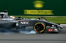 Formel 1 - Auto nicht da, wo wir es haben wollen: Noch viel Arbeit f�r Sauber