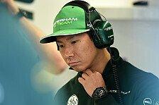 Formel 1 - Cockpit sicher: Kobayashi freut sich �ber neue Caterham-Besitzer