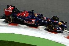 Formel 1 - Ein sehr durchwachsener Tag: Fehlerteufel bei Toro Rosso