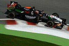 Formel 1 - Noch einige Arbeit f�r Force India: H�lkenberg: Suche nach der perfekten Balance