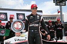 IndyCar - Montoya Vierter: Firestone 600: Power steht auf Pole