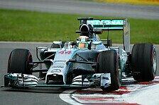 Formel 1 - Konkurrenz holt auf: 2. Training: Hamilton knapp vor Rosberg