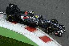 Formel 1 - Chassis bei Unfall besch�digt: Gutierrez verpasst Qualifing