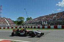 Formel 1 - Erneut Punkte im Visier: H�lkenberg: P11 das H�chste der Gef�hle