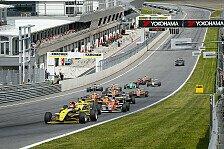 ADAC Formel Masters - Auf dem Weg zum Halbzeit-Meister: Start/Ziel-Sieg f�r Jensen in Spielberg